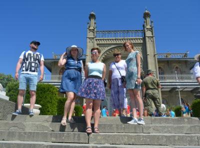 Экскурсия по Южному берегу Крыма - Воронцовский парк