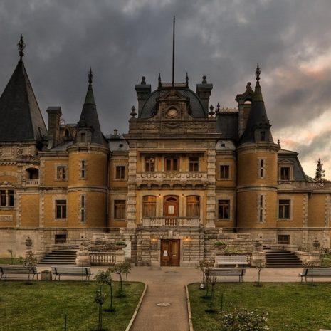 Дворец в Массандре