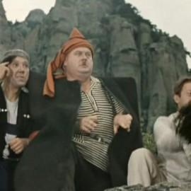 «Кавказская пленница или новые приключения Шурика» в долине горы Демерджи