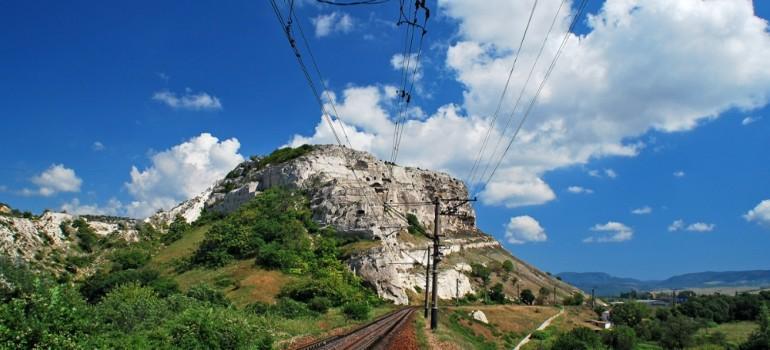Мекензиевы горы — естественное препятствие на пути к Севастополю
