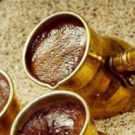 Кофе на песке по-восточному