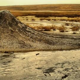 Грязевые вулканы Крыма