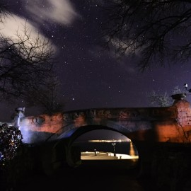 Звездная ночь в Севастополе — фото