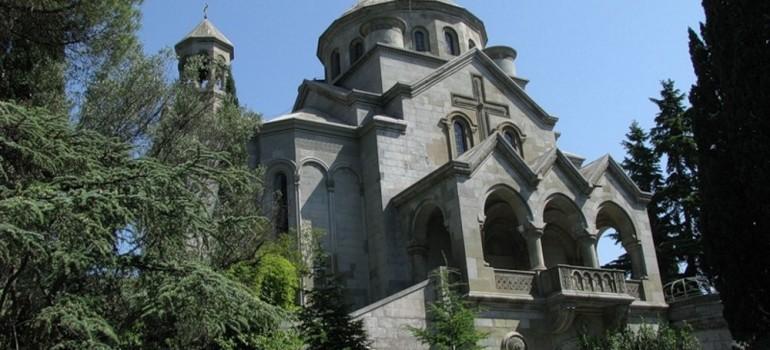 Армянская церковь Святой Рипсимэ в Ялте