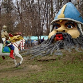 Детский парк в Симферополе