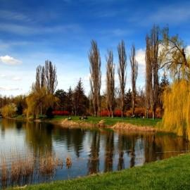 Парк им. Ю. Гагарина в Симферополе