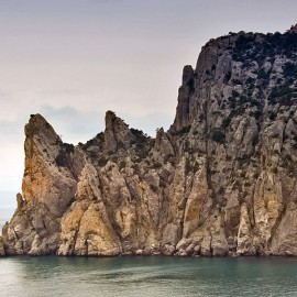 Гора Караул-Оба – геологическое чудо света