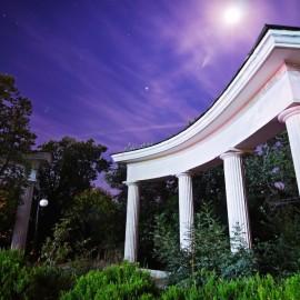 Огни вечерней Ялты — Приморский парк