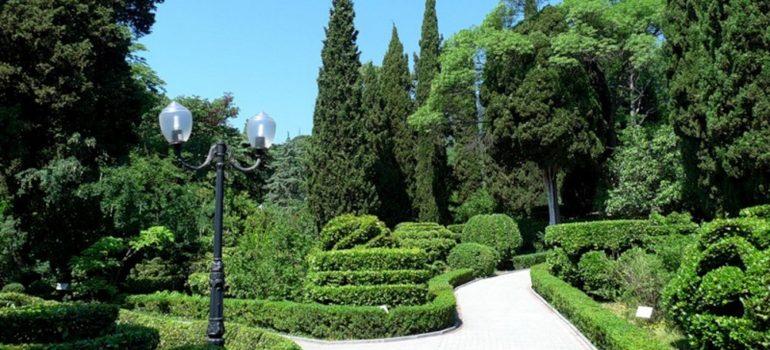 Гурзуфский парк и его восхитительные фонтаны