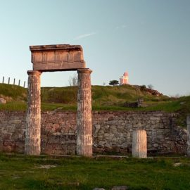 Древний город Пантикапей