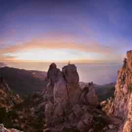Легенда об обители ветров — горе Ай-Петри