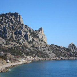 Легенда о скалах Дива, Монах и Кошка в Симеизе