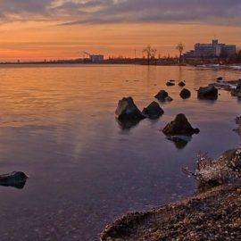 Легенда о Сакском озере и о его чудодейственных свойствах