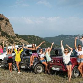 Активный тур — каникулы в Крыму